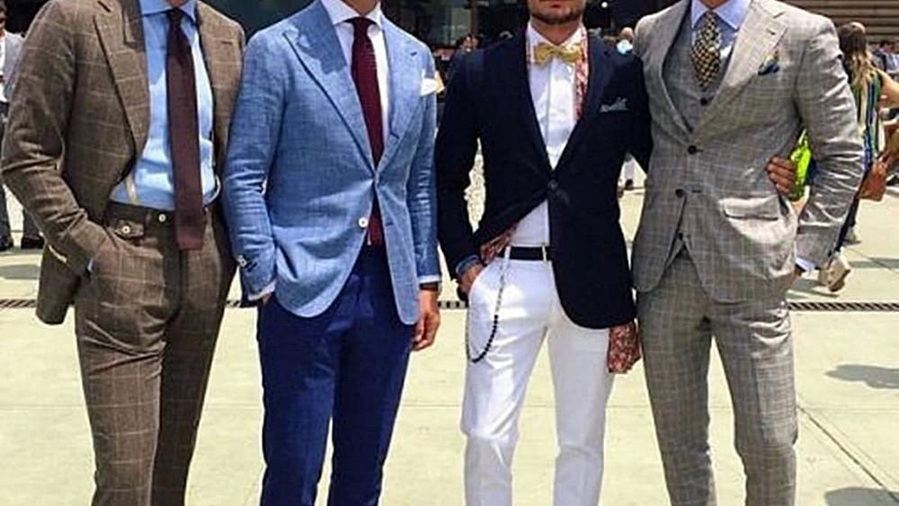 婚禮穿搭-當個帥氣又得體的婚禮來賓