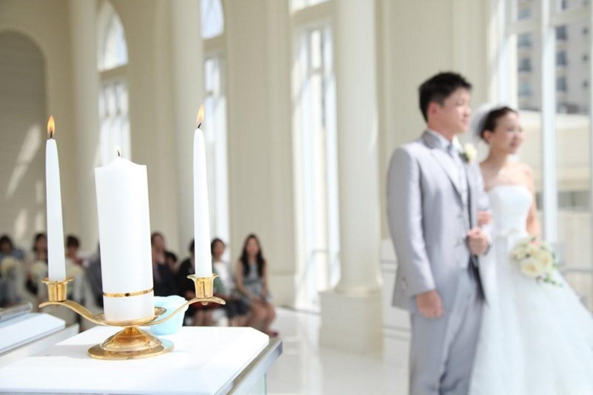 儀式:證婚分享-同心燭&同心沙