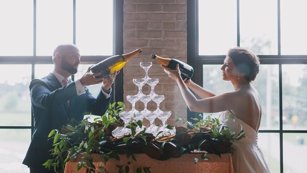 儀式:婚禮上為什麼會有香檳塔