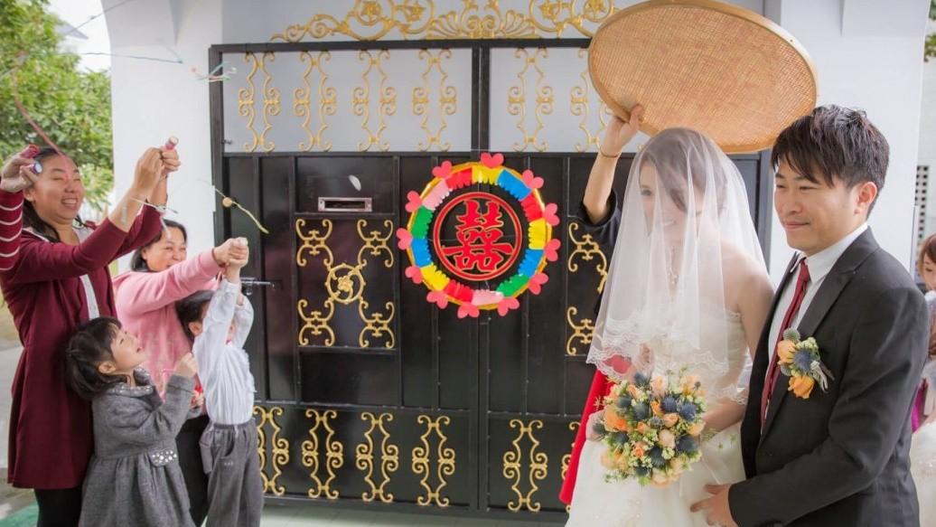 結婚習俗:南、北大不同
