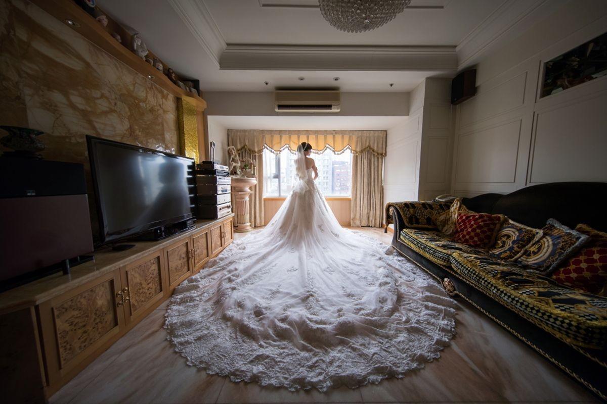 試婚紗前的8個小技巧,精準挑出妳的命定婚紗