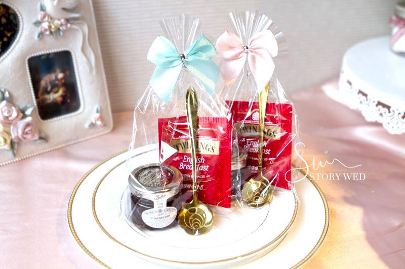 皇家認證唐寧英倫茶包+英國Tiptree果醬+玫瑰湯匙禮物包