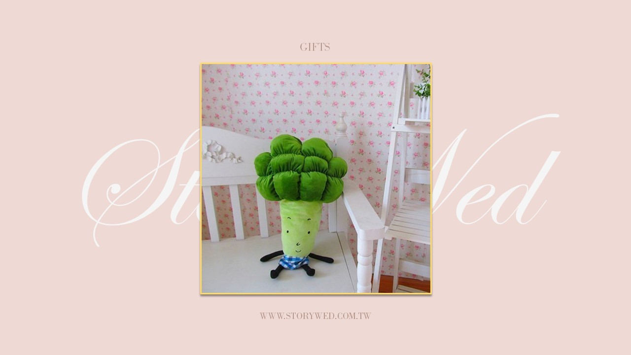 花椰菜娃娃抱枕 - 50cm(D)